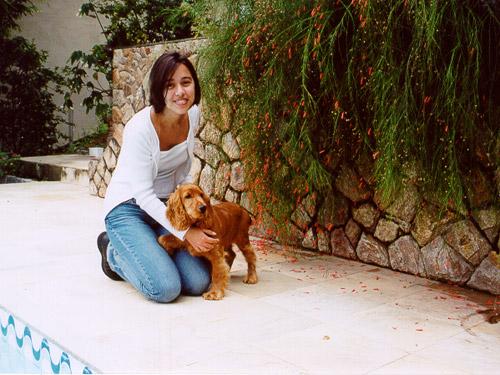 Eu e link em outubro de 2000